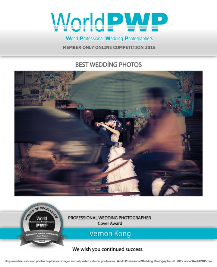 World Professional Wedding Photographers - Vernon Kong - 2