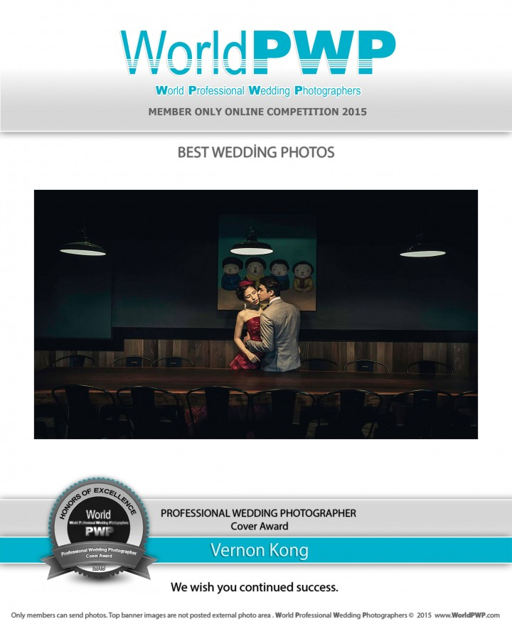 World Professional Wedding Photographers - Vernon Kong